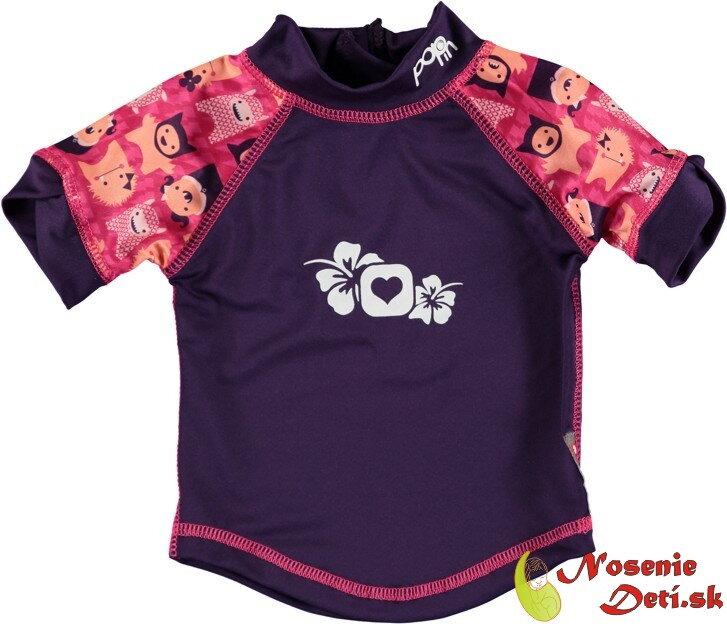da35a1b3c1a2 Detské tričko s UV ochranou 50 Pop In Monster Edie