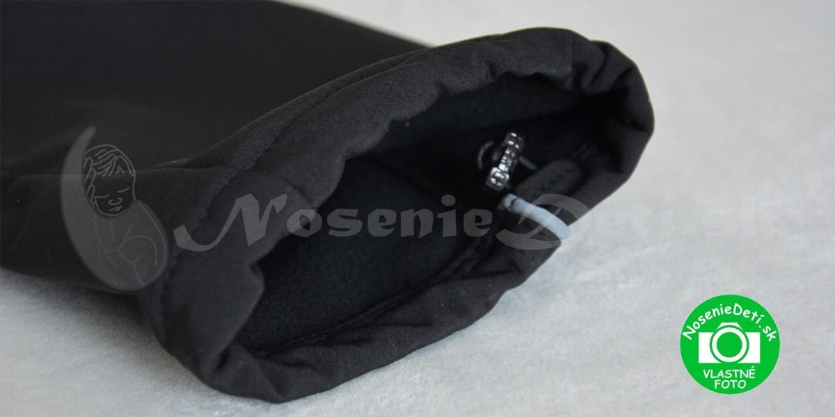 6c47f28ea ... Softshellové nohavice pre deti Na spodku nohavíc je z vnútornej časti  všitá guľatá gumička, ktorou je možné spodok nohavice