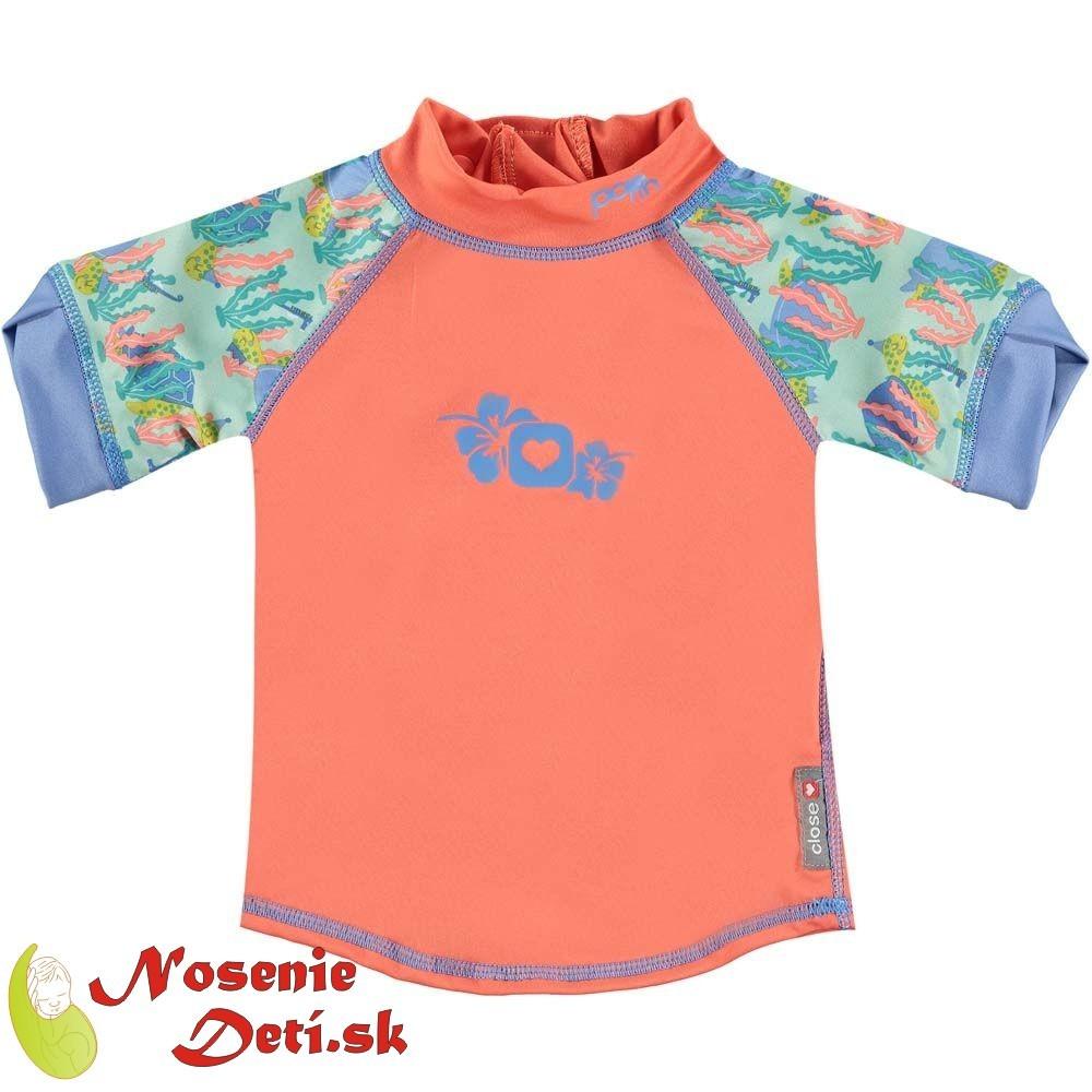 21532a4fc160 Detské tričko s UV filtrom 50 Pop In Turtle
