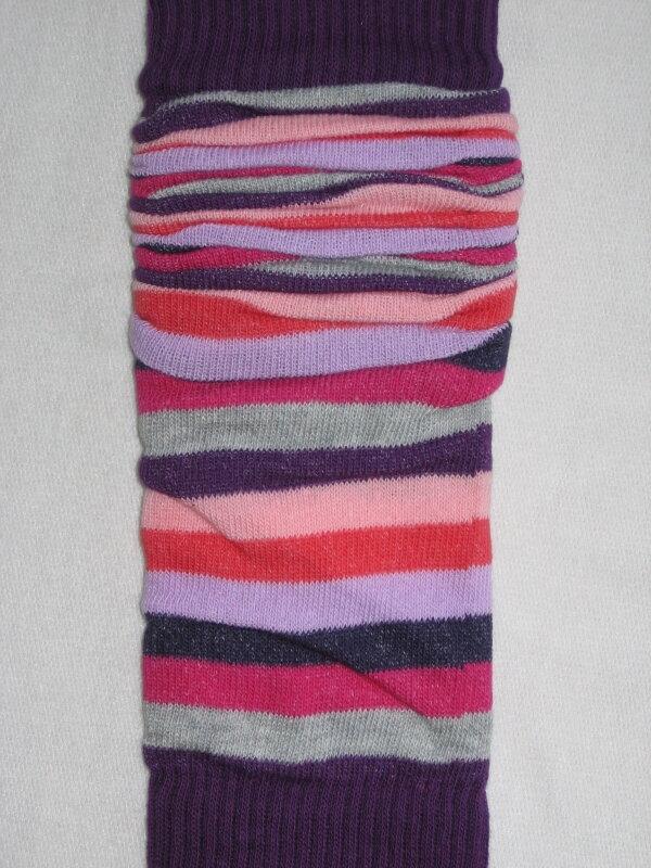 Návleky Design Socks - Fialová tmavá 607219f33d7
