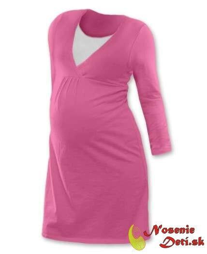 668bad9b2672 Tehotenská nočná košeľa na kojenie DR Lucia Svetloružová