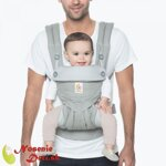Nosič pre deti Ergobaby 360 four position Pearl Grey