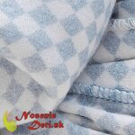 Manduca Sling Soft Check Blue - detail