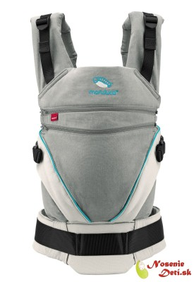 Manduca XT Cotton Grey-Ocean
