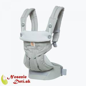 Ergobaby nosič Four position 360 Pearl grey