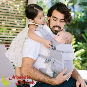 Ergobaby Adapt nosič Cool Air Mesh  Pearl Grey