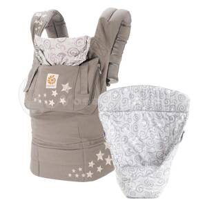 Ergo set pre novorodencov Bundle of Joy Galaxy Grey