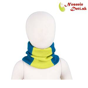 Merino nákrčník Manymonths multitube KID Mykonos Water