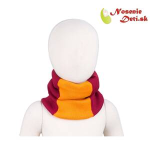 Merino nákrčník Manymonths multitube KID Raspberry Red
