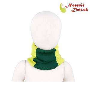 Merino nákrčník Manymonths multitube KID Sweet Apple