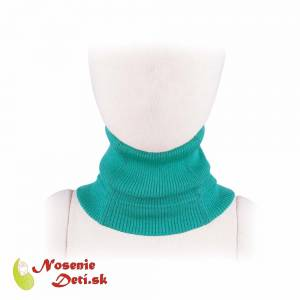 Merino nákrčník Manymonths multitube KID Royal Turquoise