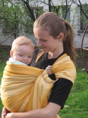 Ring Sling Storchenwiege - Vicky